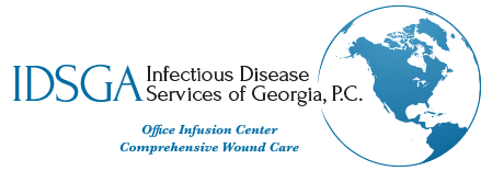 Infectious Disease Services of Georgia, P.C. logo for print